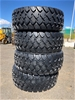 Qty of 4 x Unused 23.5R25 Radial Earthmoving Tyres