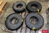 4 x Inflatable Fork Lift Tyres