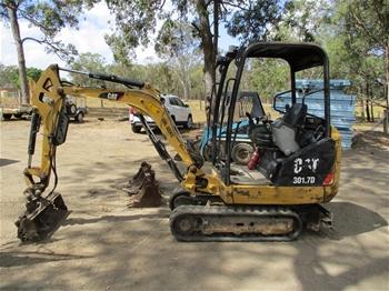 Caterpillar 3017D Mini Excavator