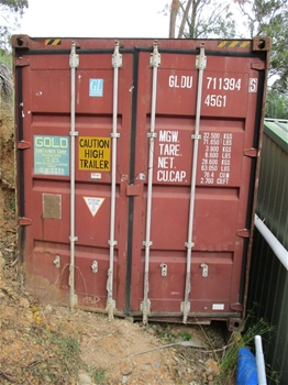 40 Shipping container