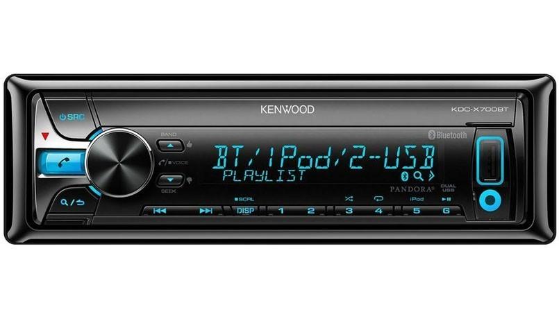 Kenwood KDC-X700BT Bluetooth Dual USB CD Receiver