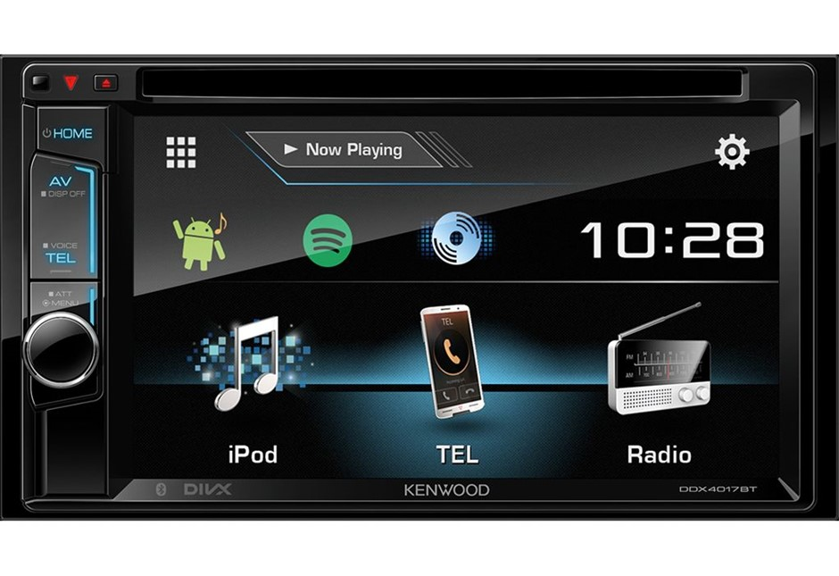"""Kenwood DDX4017BT 6.2"""" WVGA DVD Receiver with Built-in Bluetooth"""