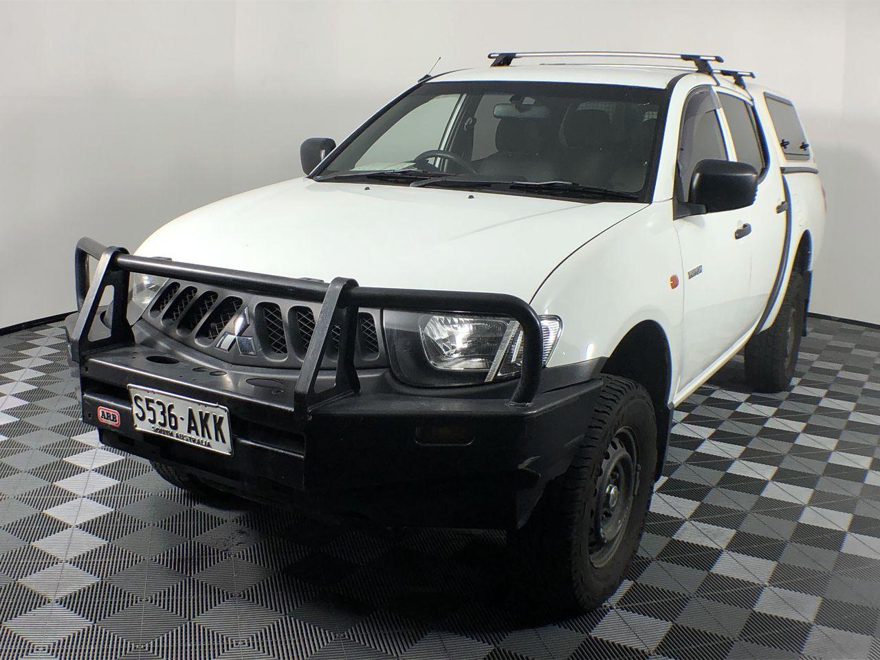 2009 Mitsubishi Triton GLX ML Turbo Diesel Automatic Dual Cab