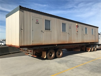 12x Nomad 14.4m x 3.4m 4 Person Ensuited Accommodation Blocks