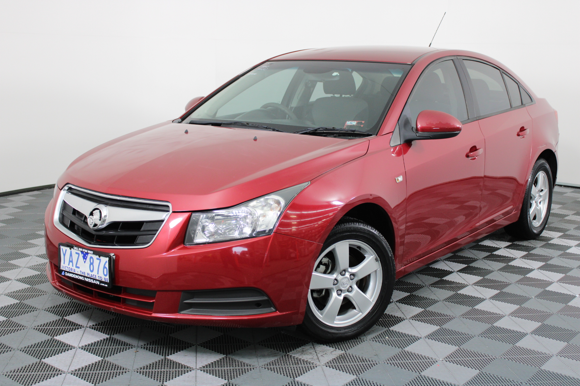2010 Holden Cruze CD JG Automatic Sedan