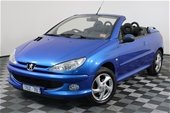 Unreserved 2004 Peugeot 206 CC Automatic Convertible