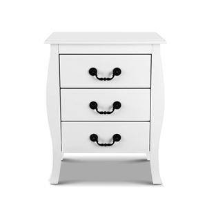 Artiss Bedside Tables 3 drawers Storage