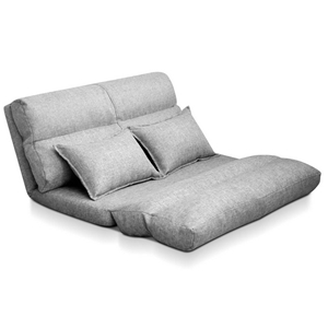 Artiss Lounge Sofa Bed Floor Recliner Ch
