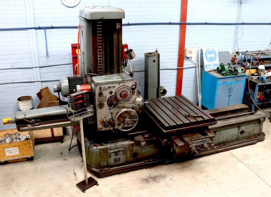 TOS Kurim H80 Horizontal Boring Machine