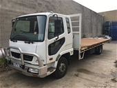 Unreserved 2012 Mitsubishi Fighter Tray Truck