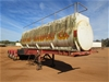 1995 Terry Brown Tri Axle 'A' Section Tanker Trailer