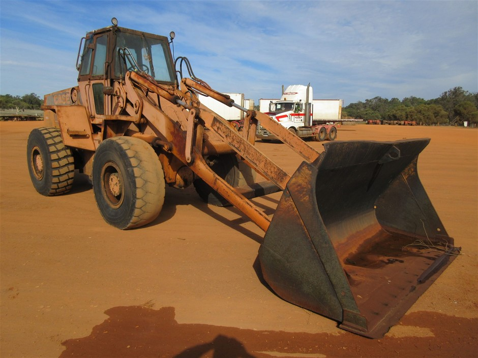 1986 Case W30 Wheel Loader