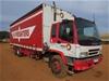2000 Isuzu FVM 6 x 4 Curtainsider Rigid Truck