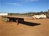 2011 Maxitrans Tri Axle Flat Deck Trailer