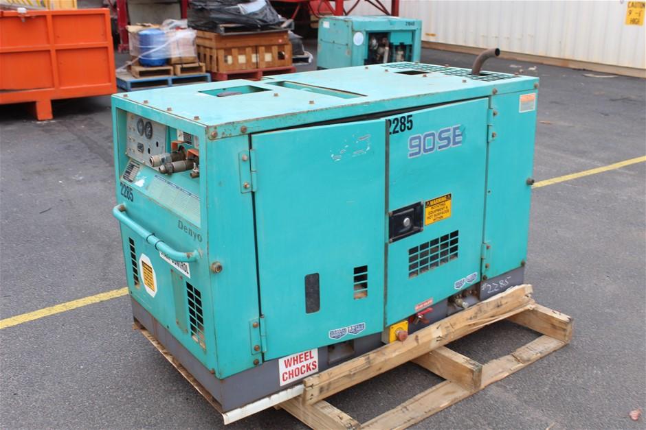 Denyo Dis-90SB Diesel Compressor