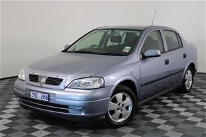 2004 Holden Astra CD TS Manual Sedan