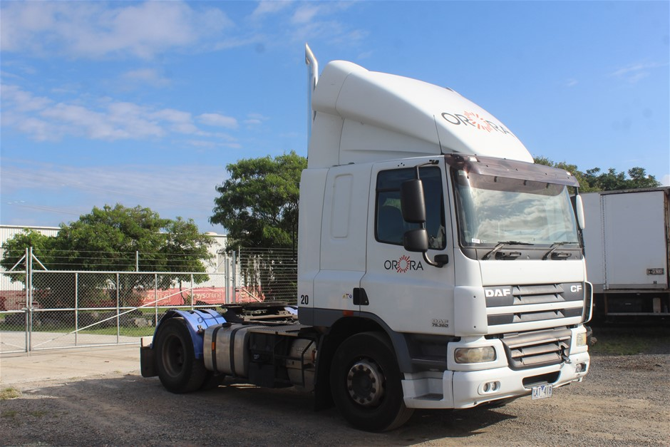 2010 DAF FTCF75 4 x 2 Prime Mover Truck