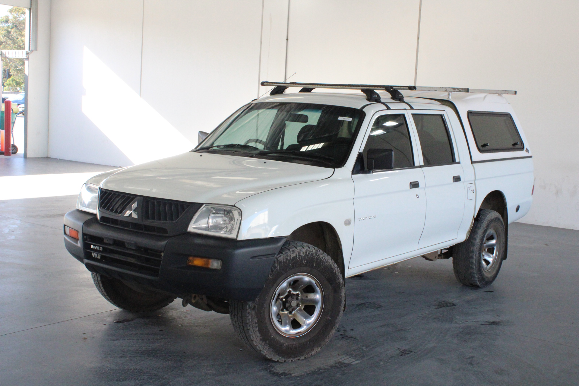 2005 Mitsubishi Triton GLX MK Manual Dual Cab (WOVR+Inspected)