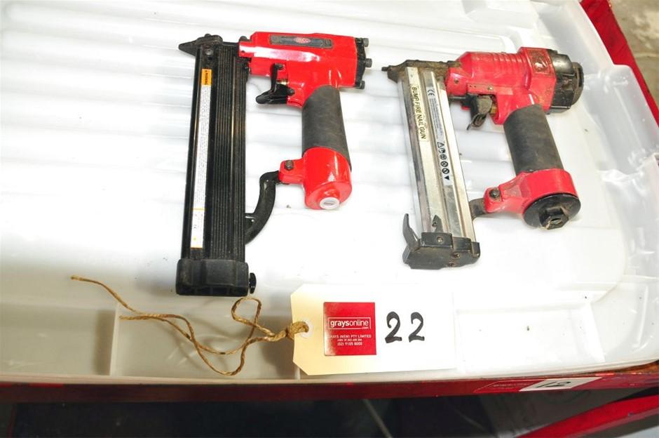 comprising 1 x Airco Pin Bradder MP0830 Assorted Pneumatic Nail Guns