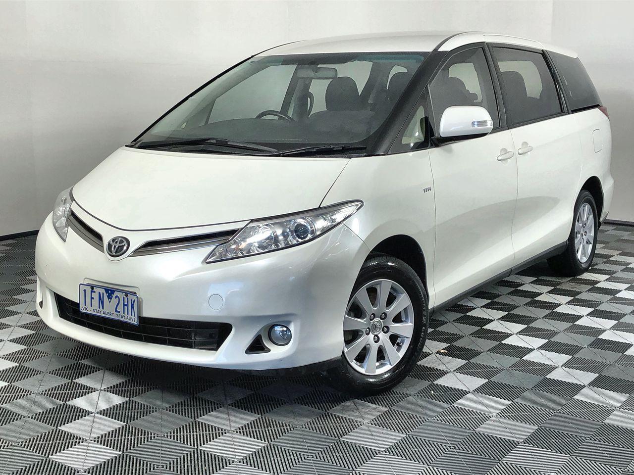 2013 Toyota Tarago GLI ACR50R CVT 8 Seats People Mover (WOVR-Inspected)