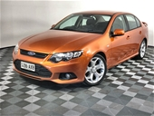 Unreserved 2012 Ford Falcon XR6 FG II