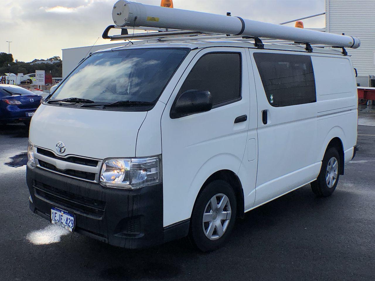 2013 Toyota Hiace LWB TRH201R Automatic Van