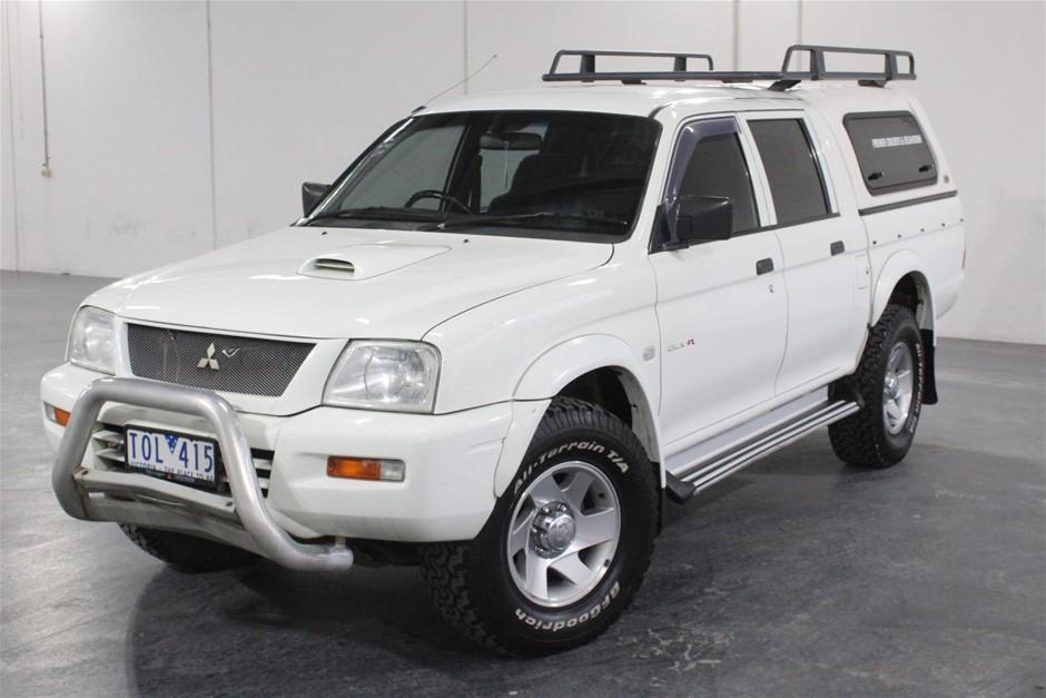 2005 Mitsubishi Triton GL-R AWD Manual - 5 Speed Dual Cab Ute