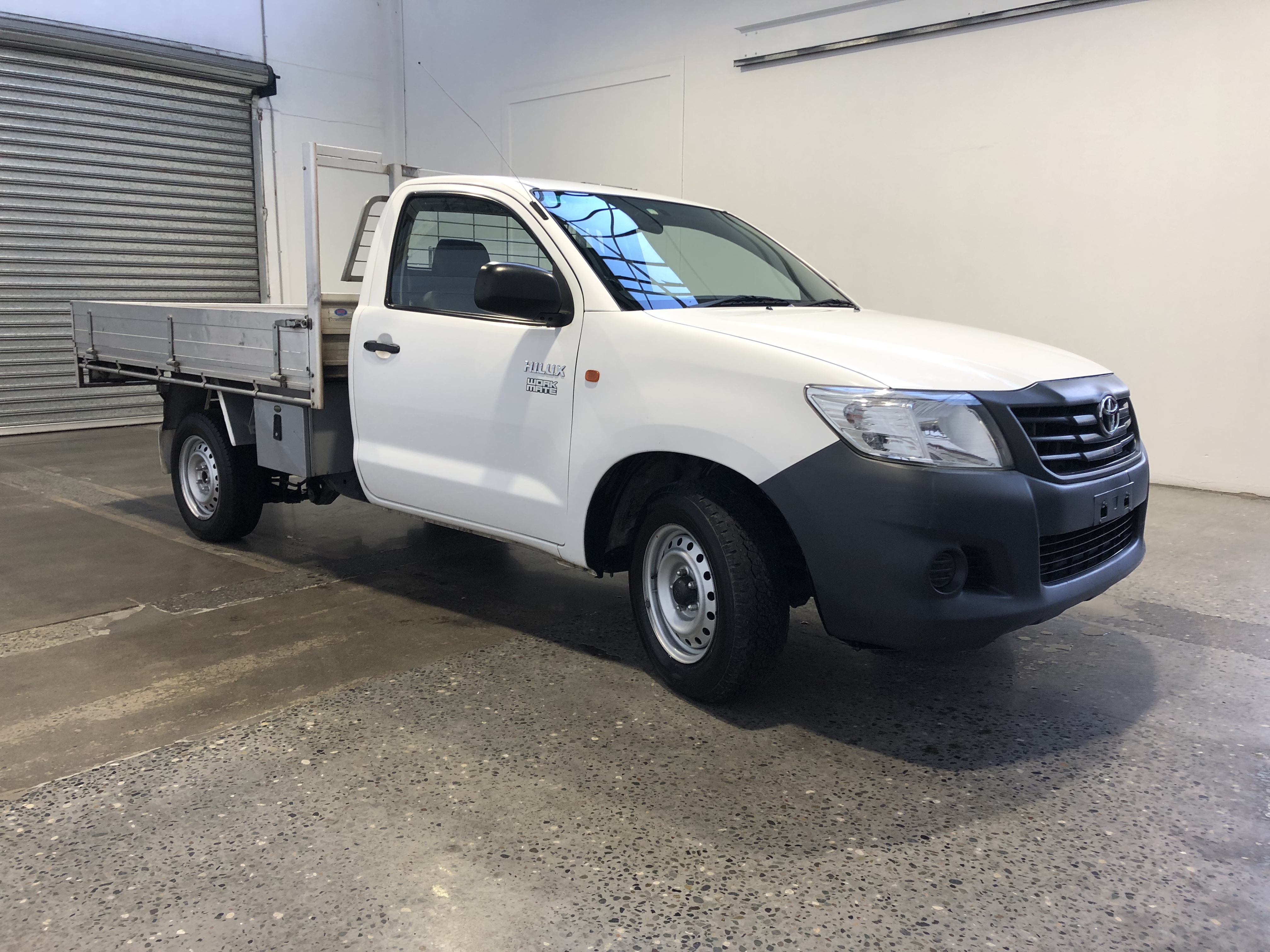 2013 Toyota Hilux Workmate TGN16R Manual Cab Chassis