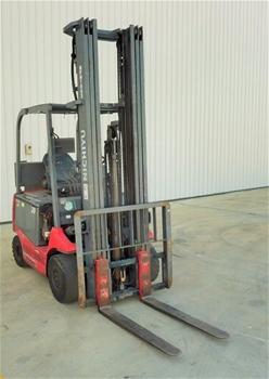 Nichiyu FB20PN E75BC 4 Wheel Counterbalance Forklift