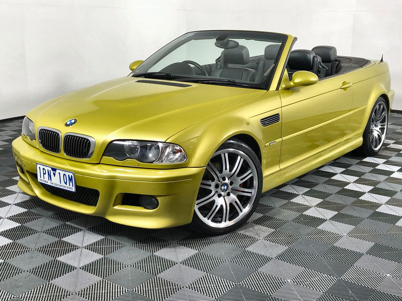 2004 BMW M3 E46 Manual Convertible