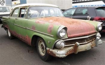 1955 ford v8 customline 4 door sedan 65719 manual 76100 for 1955 ford customline 4 door