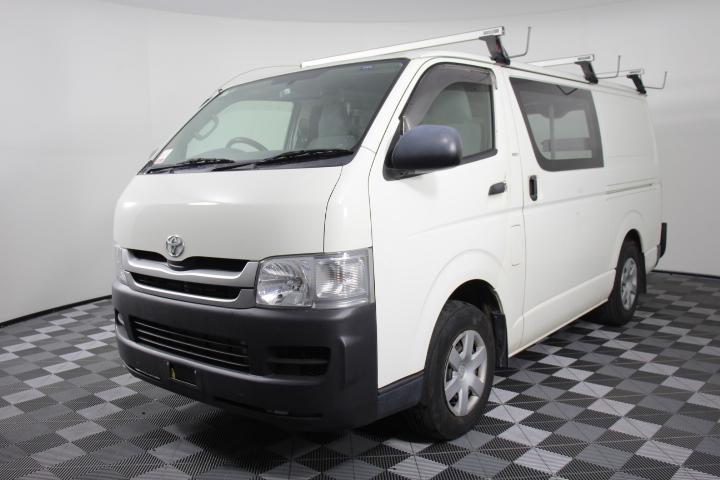 2009 MY10 Toyota Hiace 6.0 LWB 112,371 km's