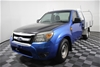 2010 Ford Ranger XL PK Turbo Diesel Cab Chassis