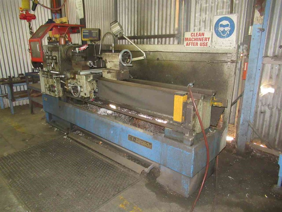 High Speed Gap Bed Lathe, Yunnan Machine Tool Works Cy-S2060B