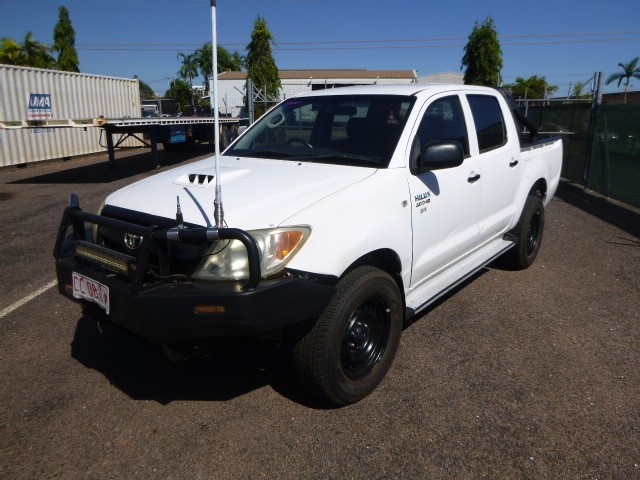 2008 Toyota Hilux SR-D40 4WD Manual - 5 Speed Dual Cab Ute