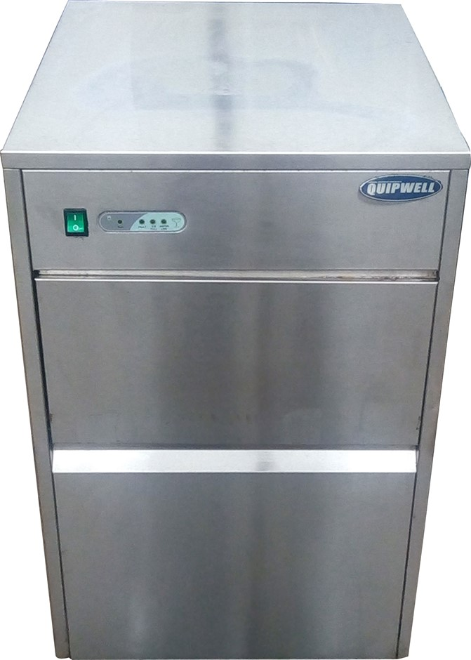 QUIPWELL UNDERCOUNTER ICE MAKER UNDERCOUNTER OR BENCH TOP ICE MAKER
