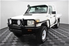 2012 Toyota Landcruiser Workmate (4x4) T/Diesel Cab Chassis 163,025km