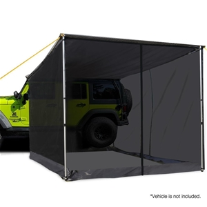 Weisshorn Car Shade Awning & mesh Screen