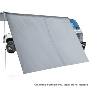 Weisshorn Car Shade Awning Extension 3 x