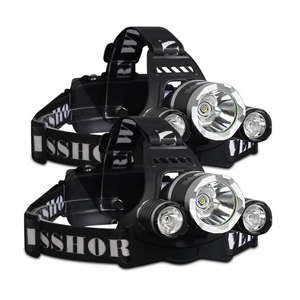 Weisshorn Set of 2 4 Modes LED Flash Tor