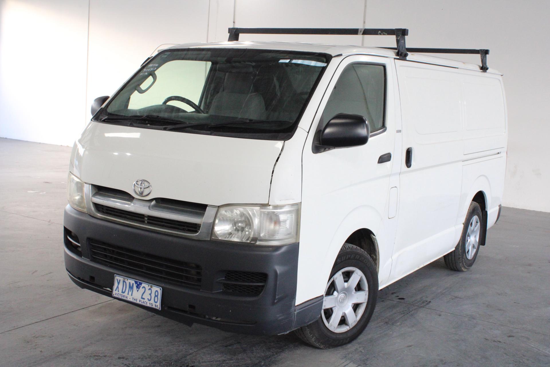 2006 Toyota Hiace LWB TRH201R Automatic Van (WOVR)
