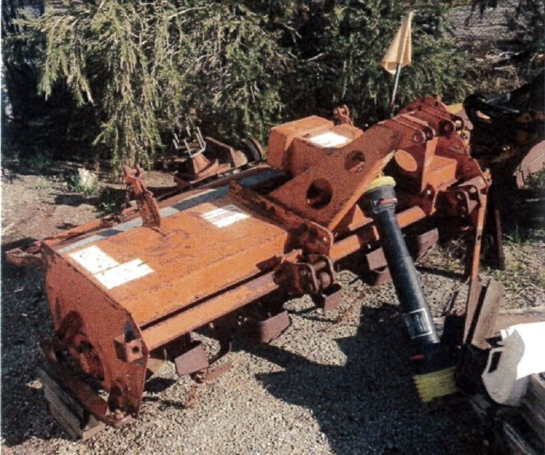 Howard PTO Driven Rota Slasher with 3pl,