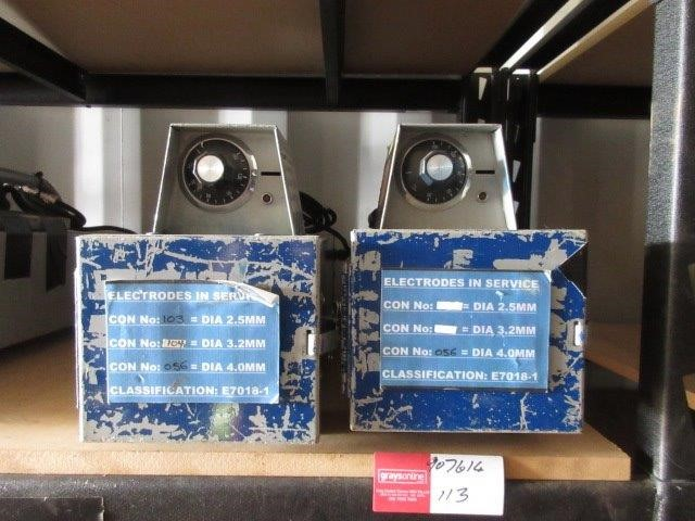 Qty 2 x Electrode Ovens