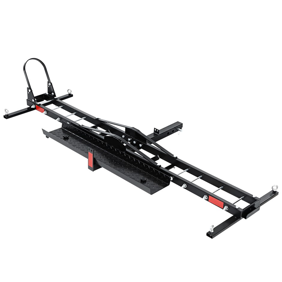 Giantz Motorcycle Carrier 2 Arms Rack Motorbike Dirt Bike 2''Hitch Towbar
