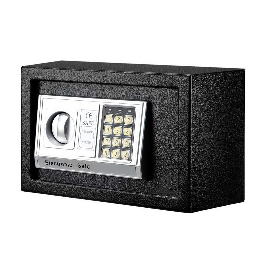 UL-TECH Electronic Digital Safe Security Box Home Office Cash Deposit 8.5L