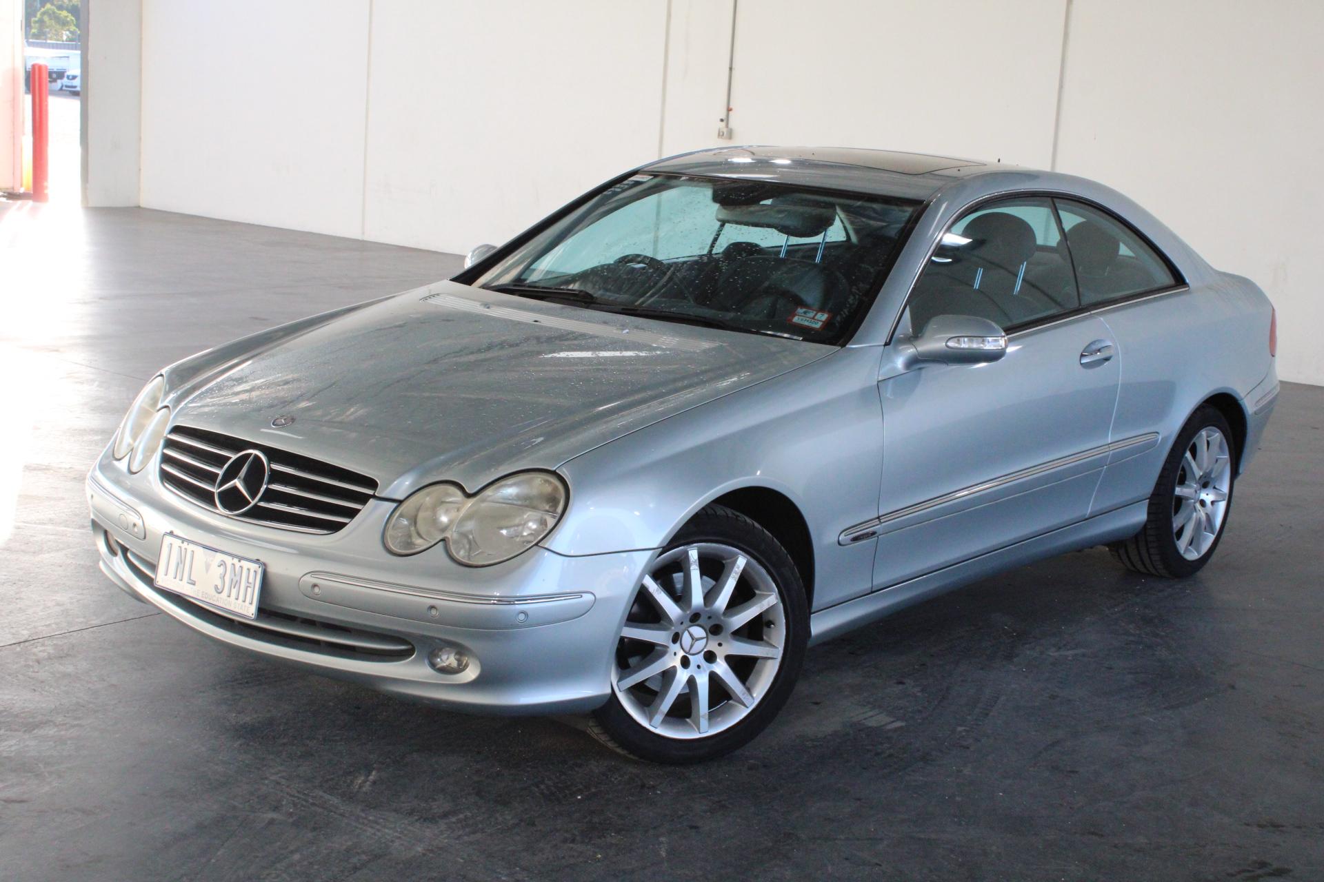 2005 Mercedes Benz CLK320 Avantgarde C209 Automatic Coupe
