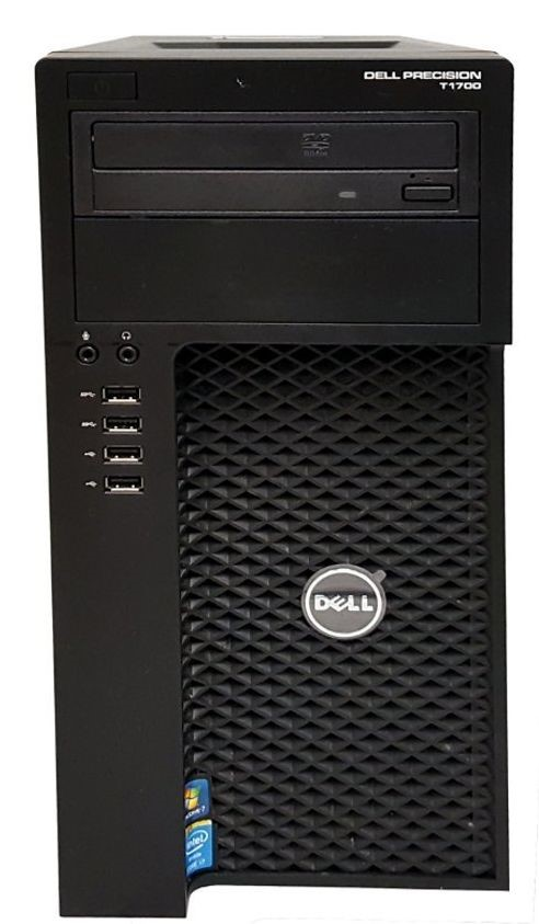 Dell Precision T1700 Mini Tower Desktop PC, Black