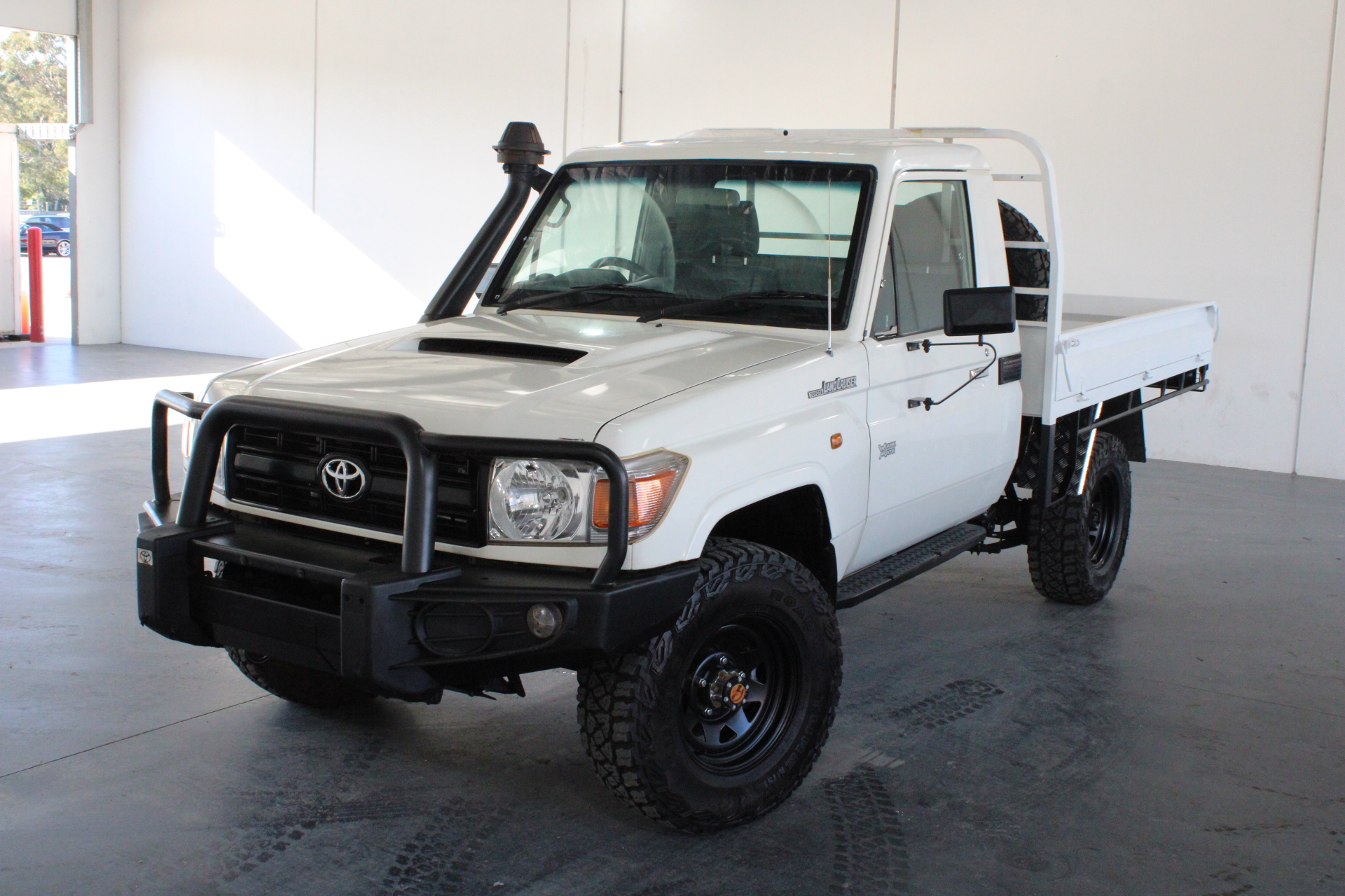2015 Toyota Landcruiser Workmate (4x4) VDJ79R T/Diesel Manual Cab Chassis