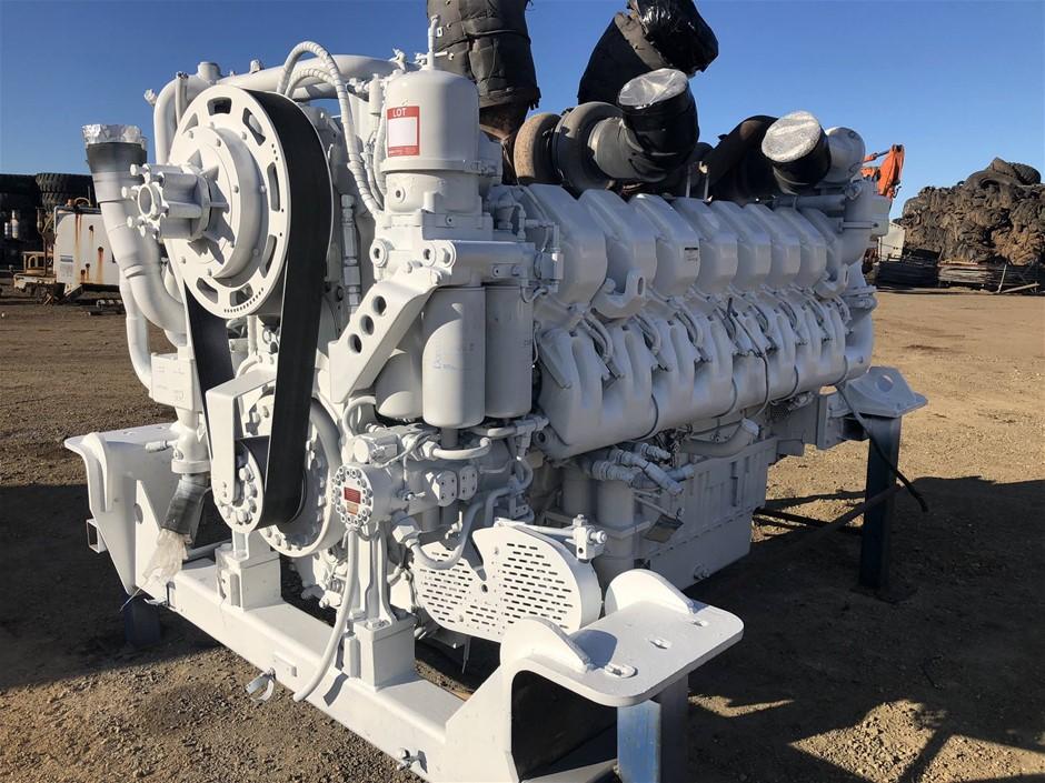 MTU Detroit Diesel V16 4000 Diesel Engine