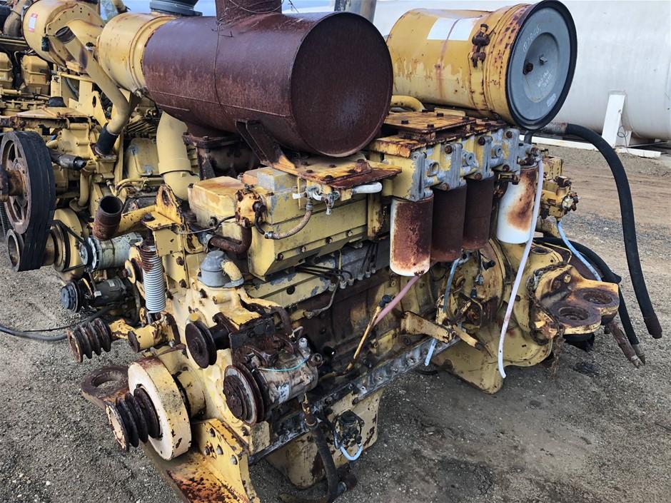 Komatsu 6D140 Diesel Engine